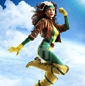 Rhian Ramos cosplays Rogue.
