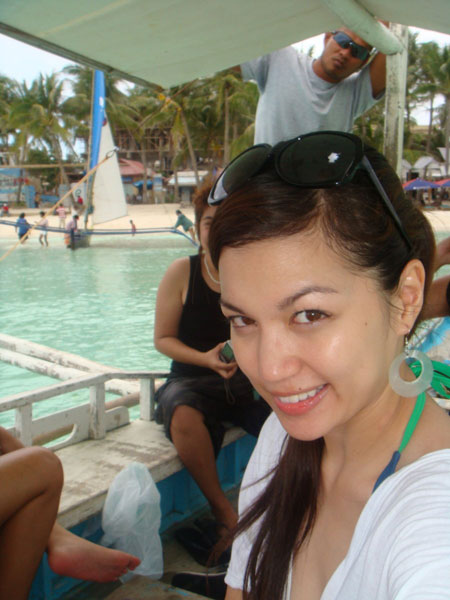 Ruby Basco in Boracay