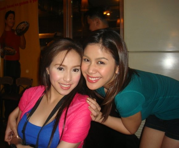 Cristine Reyes and Valerie Concepcion