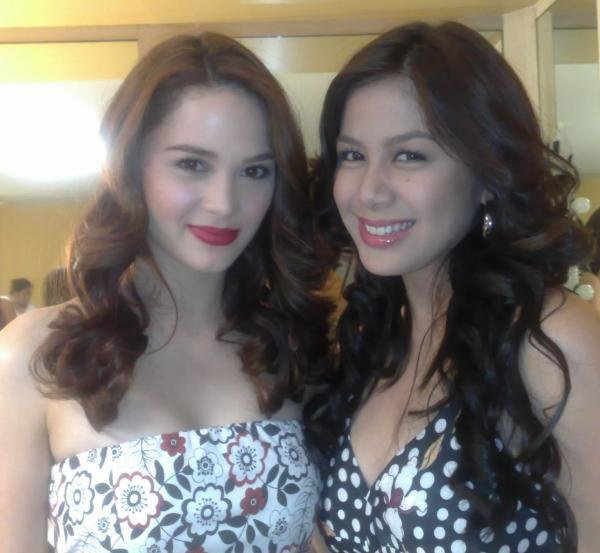 Kristine Hermosa and Valerie Concepcion