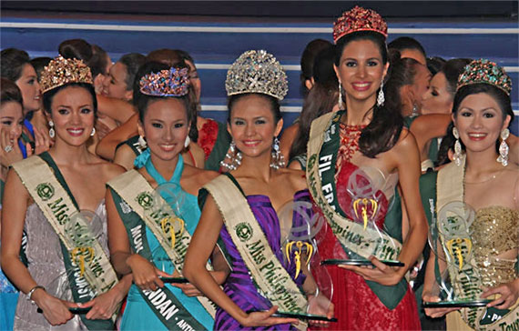 Miss Philippines-Earth 2010 Winners