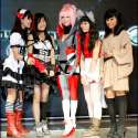 Filipina cosplay queen Alodia Gosiengfiao portrays Amanda Werner from the sci-fi anime series Blassreiter. Alodia is joined by various cosplayers at the 2010 Cyberzone cosplay competition finals.
