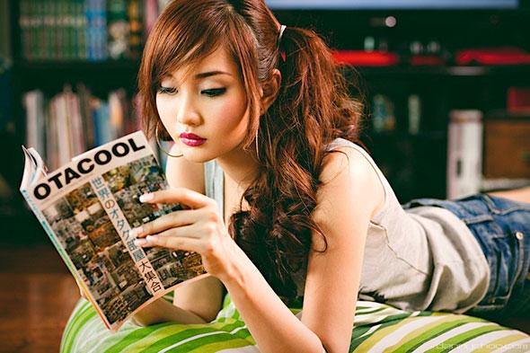 Filipina Cosplayer Alodia Gosiengfiao for Tokyo MX TV