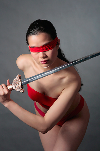 Filipina Cosplayer Jerry Polence as Jue from The Animatrix