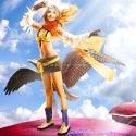 Alodia Gosiengfiao cosplays Rikku.